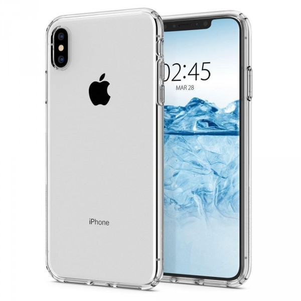 Spigen Pouzdro Liquid Crystal iPhone X 057CS22118