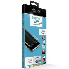 MyScreen Tvrzené sklo Diamond Edge 3D iPhone 7/8 Plus bílé/white, Tempered Glass