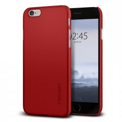 Spigen SGP Thin Fit pouzdro iPhone 6S / 6 červené (Red)