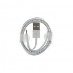 iPhone  5 Datový Kabel Lightning bílý (Round Pack)
