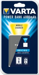 Varta VARTA Power Bank Dual USB 6000mAh (EU Blister)