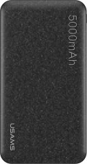USAMS USAMS US-CD20 Power Bank 5000mAh Black (EU Blister)
