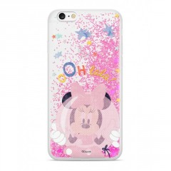 Disney Disney Minnie 046 Glitter Back Cover Pink pro Huawei P20