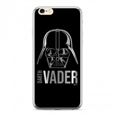 StarWars Darth Vader Luxury Chrome 010 Kryt stříbrný pro iPhone 6/6S/7/8 Plus
