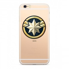 MARVEL Captain Marvel 016 Kryt transparentní pro iPhone 6/7/8 Plus