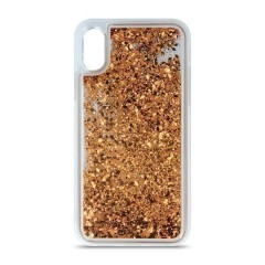 Apolis Pouzdro Liquid Glitter TPU iPhone 7 Plus / 8 Plus zlaté