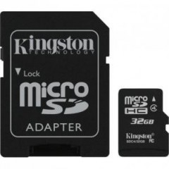 microSD Kingston G2 micro SDHC 32GB Class 10 w/a (EU Blister)