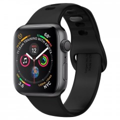 Spigen Řemínek Air Fit Band Apple Watch 1/2/3/4/5 (38/40MM) černý