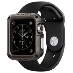 Spigen SGP Tough Armor pouzdro Watch 3 / 2 / 1 42mm šedé