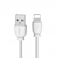 Remax Suji RC-134i kabel USB / Lightning 2.1A 1M bílý