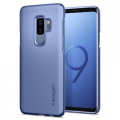 Spigen Pouzdro Thin Fit Galaxy S9+ Plus modré