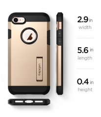 Spigen SGP Tough Armor 2 pouzdro iPhone 8 / 7 zlaté (Champagne Gold)