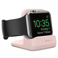 Spigen SGP S350 Dokovací stanice Night Stand Apple Watch 1/2/3/4 růžová