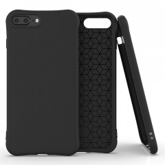 Apolis Soft Color Case elastické gelové pouzdro iPhone 8 Plus / iPhone 7 Plus černé