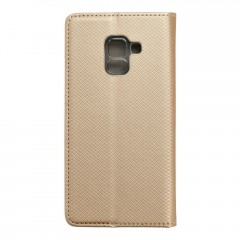 Apolis Pouzdro Smart Case book Samsung Galaxy A5 2018 / A8 2018 zlaté